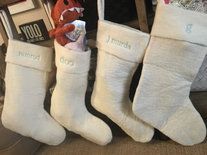 nicknames on the stockings